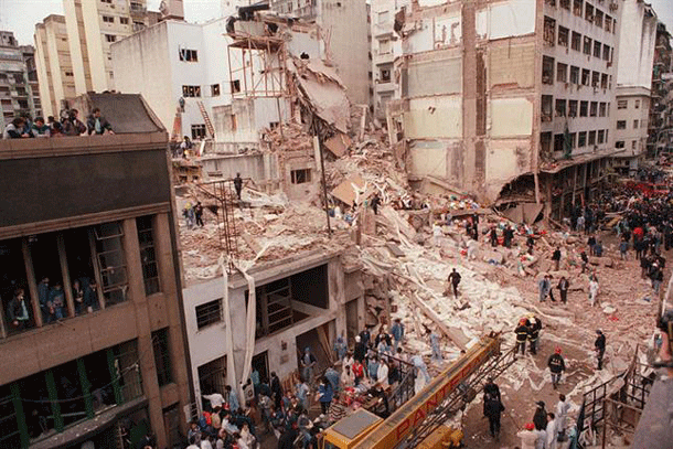 Aftermath of the 1994 bombing
