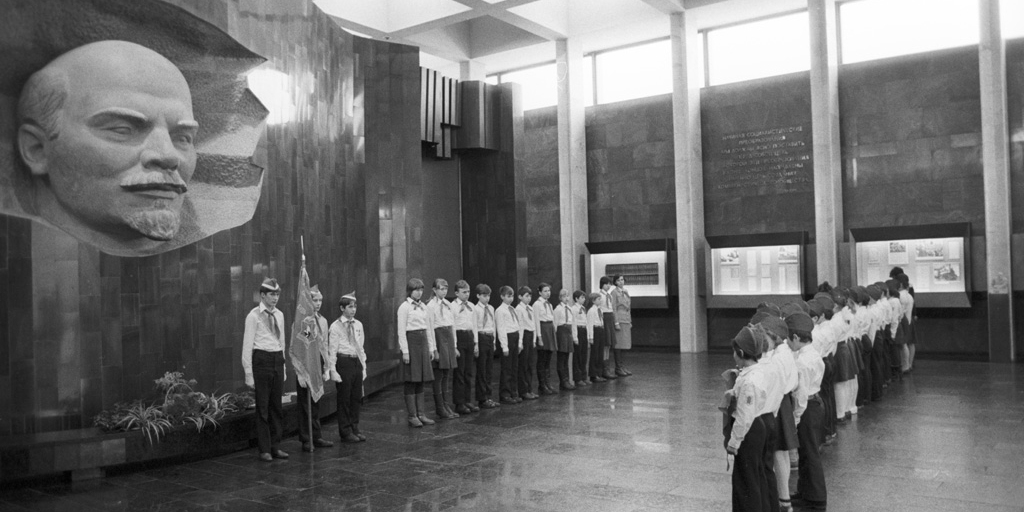 Young Pioneers, Moscow, 1984 (RIA Novosti Archive)
