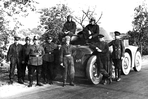 Allies against the west: ten years before the Hitler-Stalin Pact, Soviet and German tankmen practice together at the secret Kama base 200 miles east of Moscow