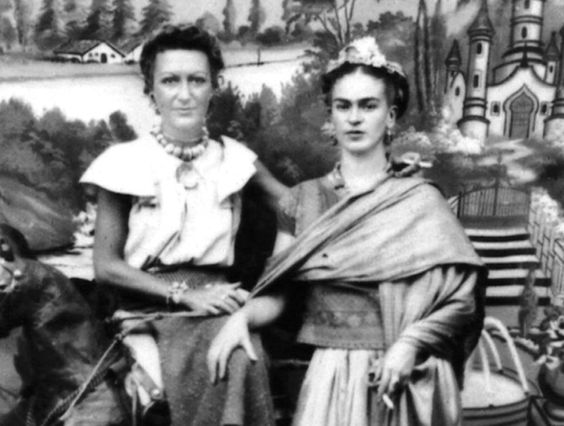 Jacqueline Lamba Breton and Frida Kahlo