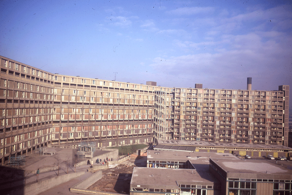 Park Hill Estate, Sheffield (JR James Archive/Flickr)