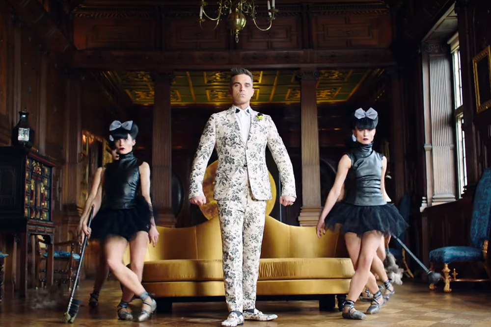 Youtube/Robbie Williams