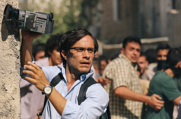 Gael García Bernal as Maziar Bahari in new film Rosewater