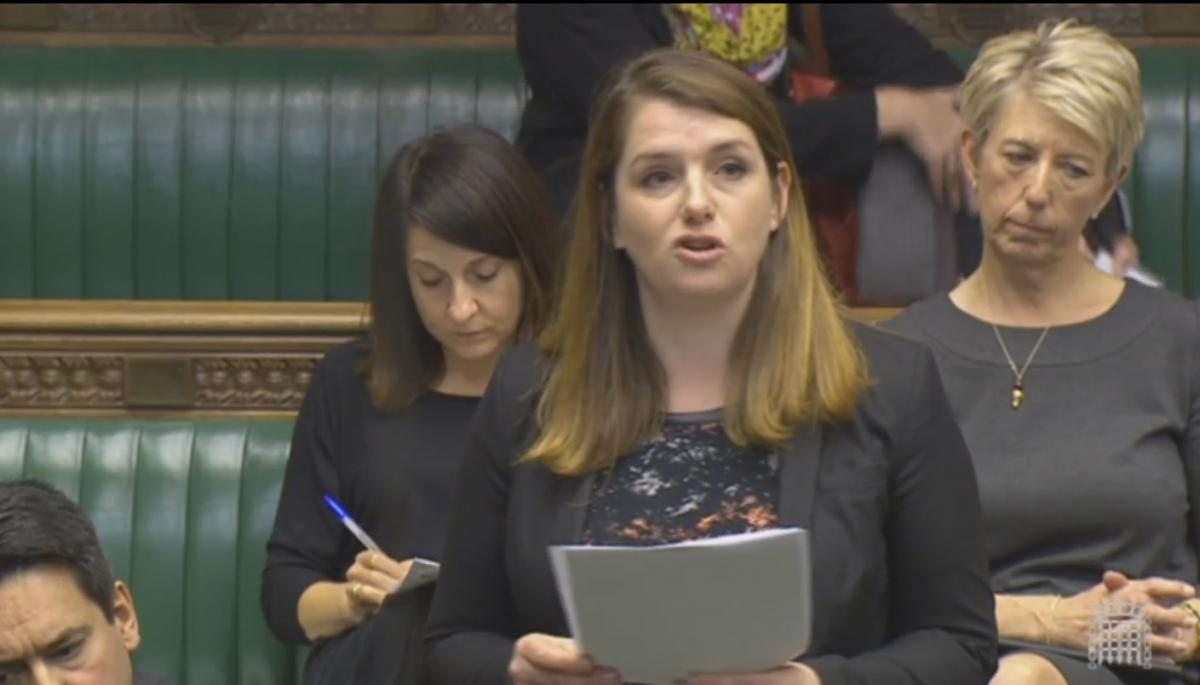 Alison McGovern remembers Jo Cox's efforts for Syria in Parliament