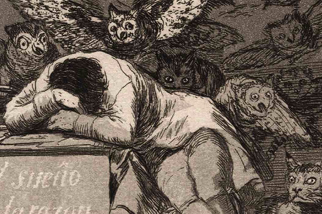 The Sleep Of Reason Produces Monsters - Goya